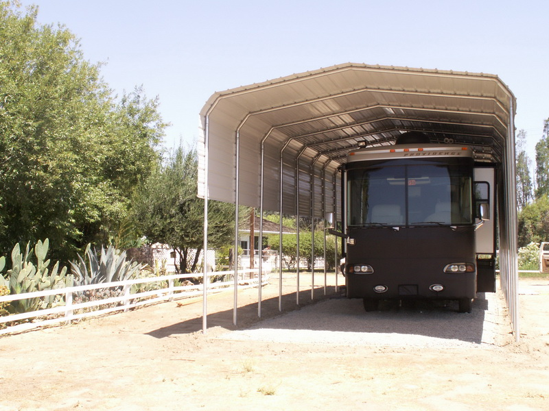 Rv Cover Carport Motorhome : Rv covers carports motorhome buildings